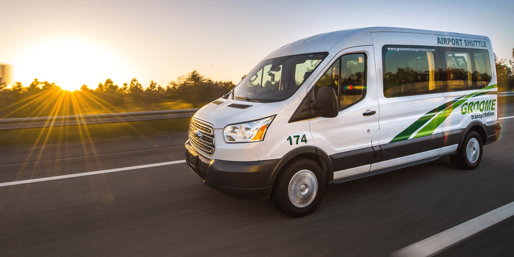 airport shuttle service groome transportation book online airport shuttle service groome
