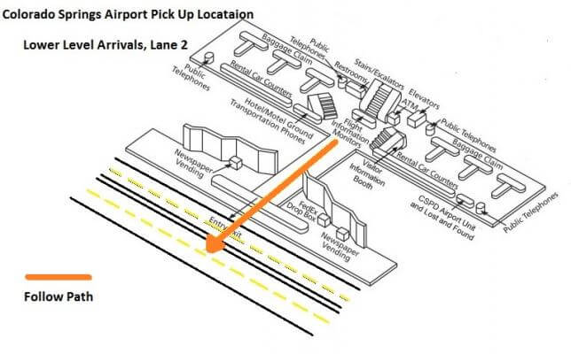 FAQ - Groome Transportation - Book Now Denver Airport Map Terminal B on