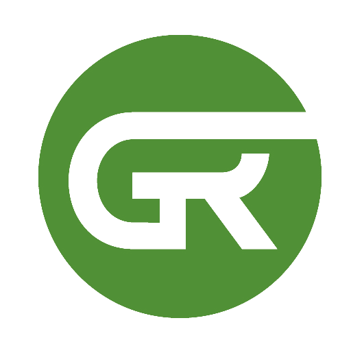 Greenride Just GR Logo